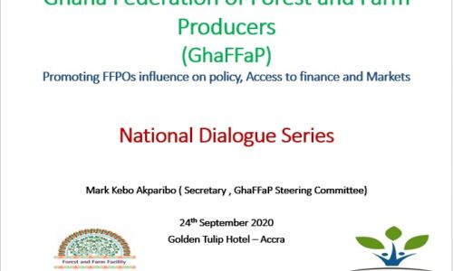 GhaFFaP 1st National Dialogue Presentation Sept 2020